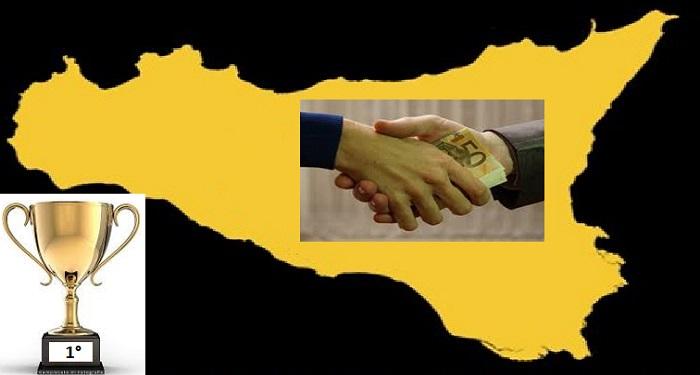 In Sicilia corruzione record