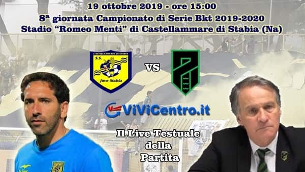Live Juve Stabia Pordenone