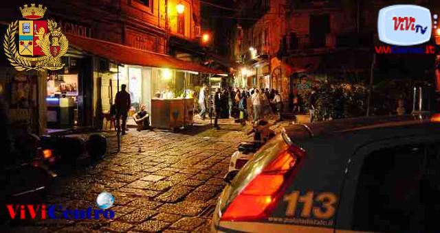 Palermo, controlli di polizia sulla movida
