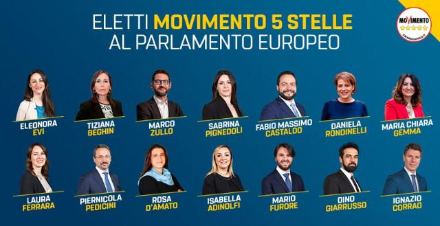 Parlamentari europei del M5S - 14 (foto dal Blog)