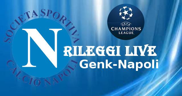 Rileggi Live Champions League Genk-Napoli