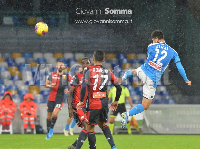 Napoli Genoa Calcio Serie A TIM 2019-2020 (17)