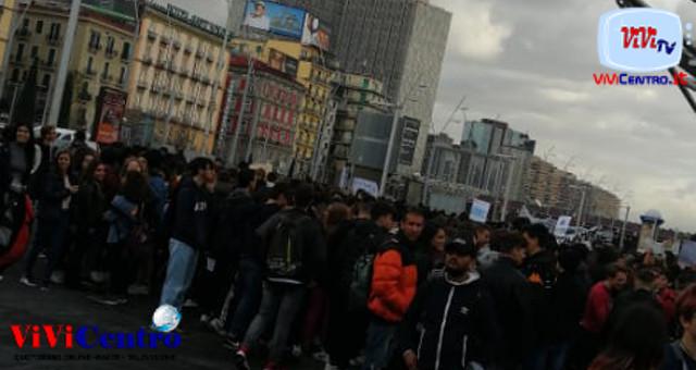 Napoli - Quarto sciopero globale per il clima 291119 a