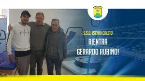 Ischia: Sogliuzzo out per almeno 3 settimane, recuperati Rubino e Pistola