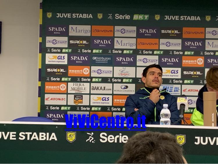 Fazio dopo Juve Stabia vs Cosenza 291219