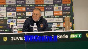 Braglia dopo Juve Stabia vs Cosenza 291219