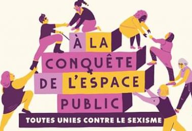 Bruxelles Vie FéminineAlla conquista degli spazi pubblici,tutte unite contro il sessismo VIDEO
