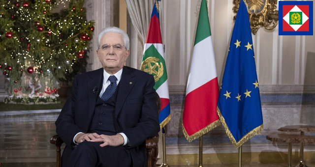 Messaggio di Fine Anno del Presidente della Repubblica Sergio Mattarella 311219