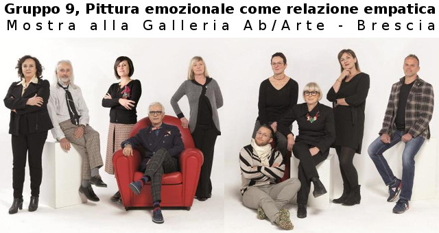 Gruppo 9 in mostra ad AbArte, Brescia
