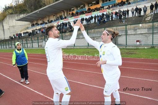 Ischia-Sant'Agnello 1-0 gol di Gigio