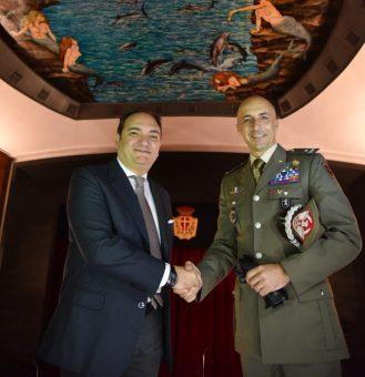 Il Presidente Miloro e il Generale Pisciotta