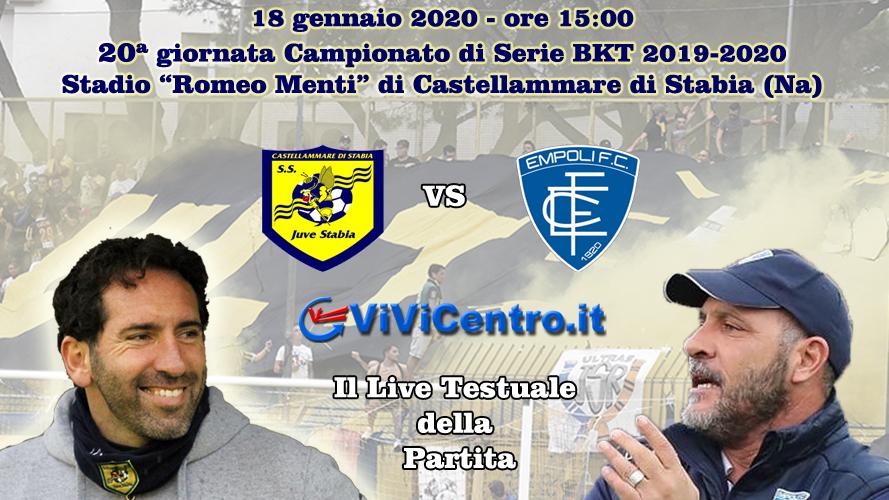 Juve Stabia Empoli LIVE
