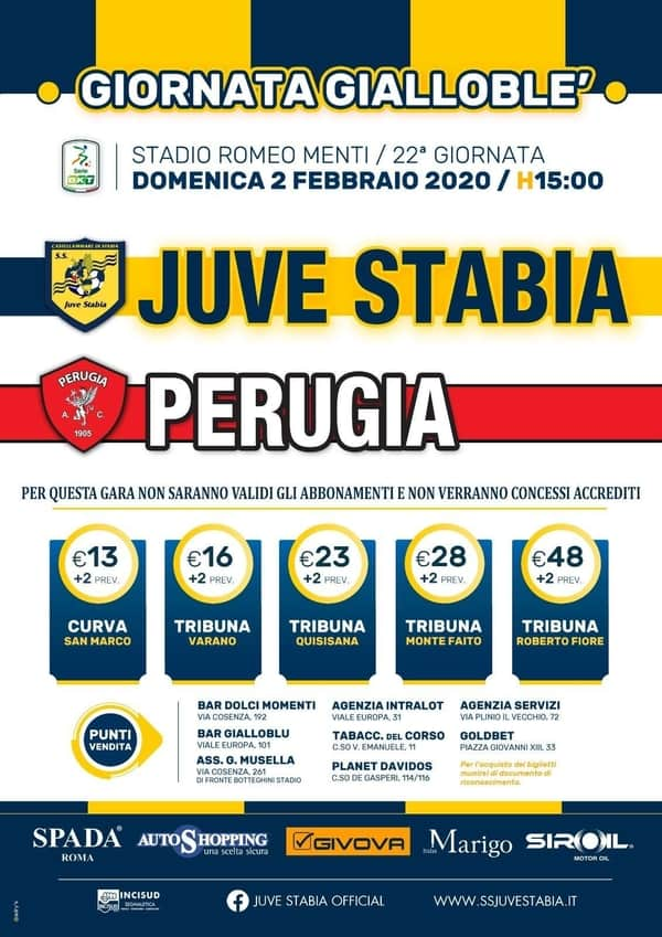 Juve Stabia Perugia