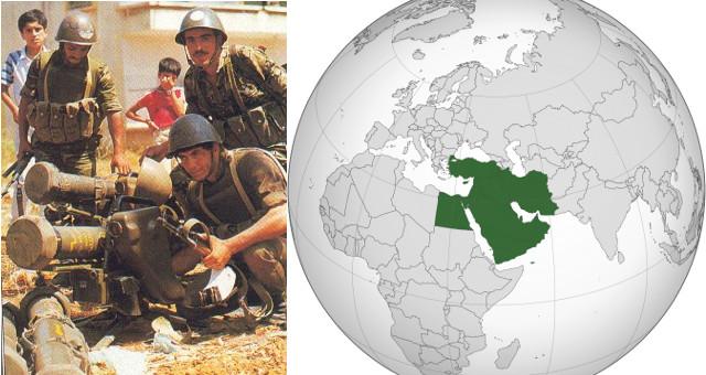 Medio oriente (combi di foto free)