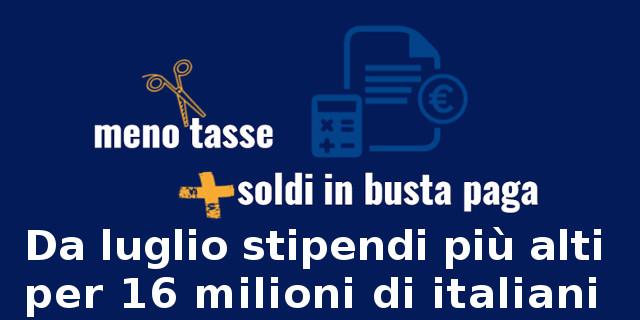 Cuneo fiscale - Meno Tasse + soldi in Busta Paga 1 (ministero finanze)