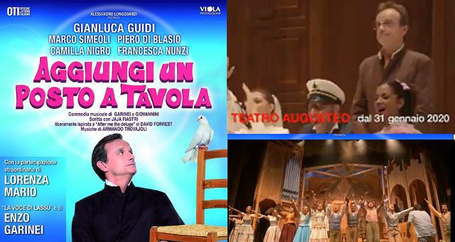 Teatro Augusteo (NA), Aggiungi un posto a tavola