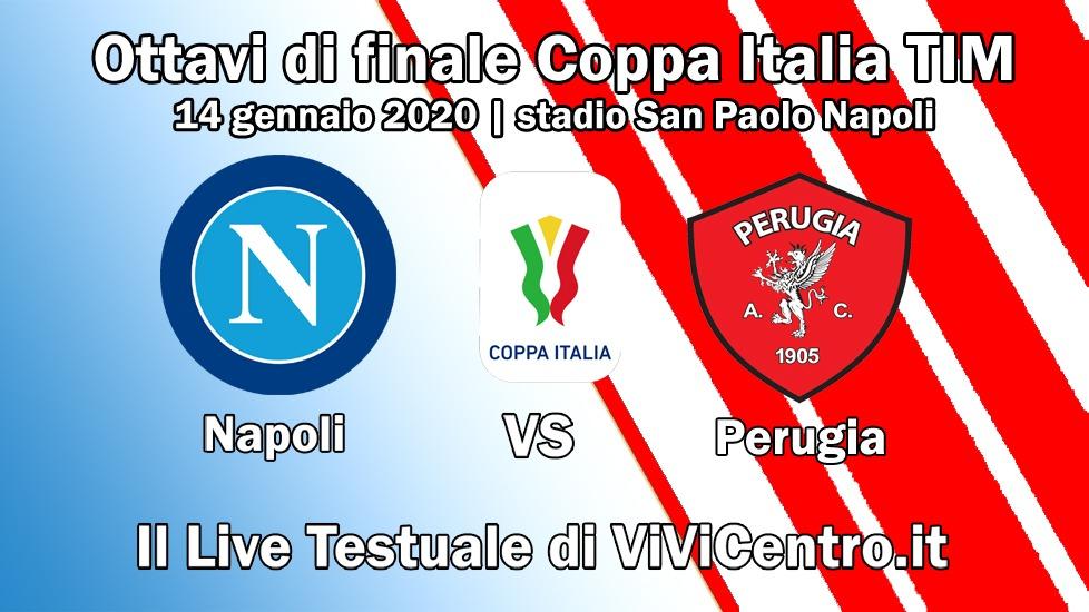 live napoli Perugia coppa Italia