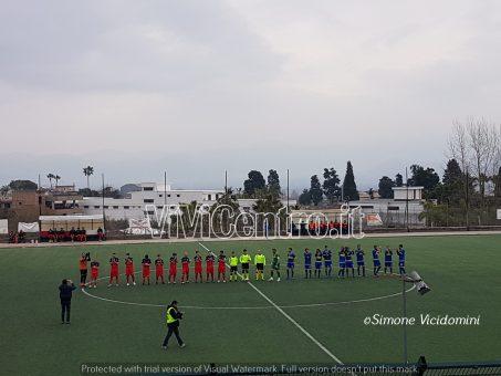 Ottaviano-Ischia 1-3 squadre in campo