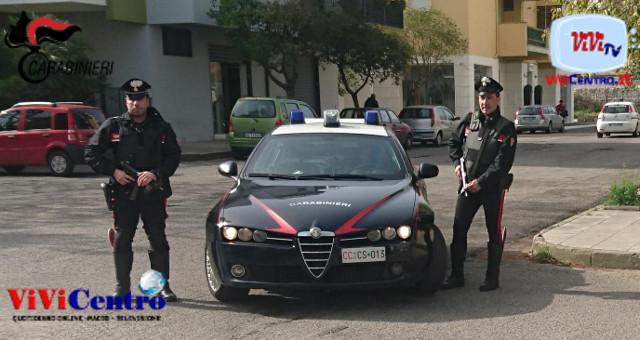 Carabinieri Radiomobile nel coriglianese