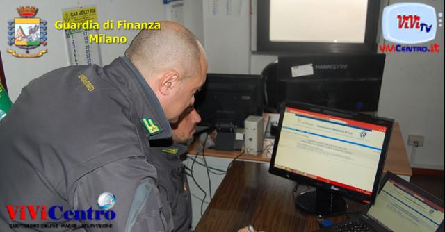Controlli GdF milanese a contrasto del sommerso d'azienda e lavoro