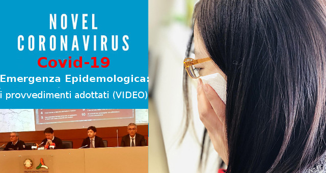 Emergenza Epidemologica Coronavirus COVID-19, i provvedimenti adottati