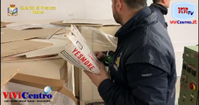 GUARDIA DI FINANZA NAPOLI SEQUESTRATE 3 FABBRICHE CLANDESTINE DI SIGARETTE,