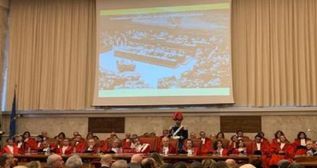 dichiarazione di Matteo Frasca, Presidente della Corte d'appello di Palermo all'apertura dell'anno giudiziario