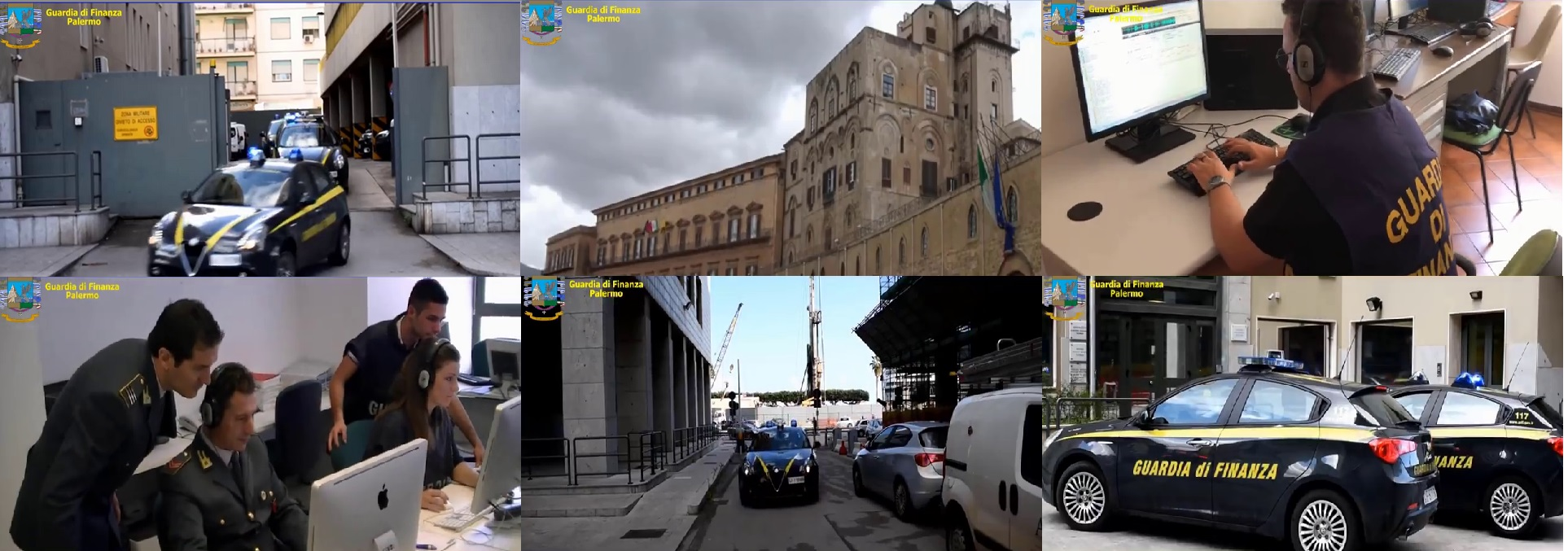La Guardia di Finanza di Palermo ha conseguentemente sequestrato 489 mila euro