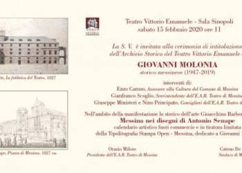 Invito Calendario Molonia