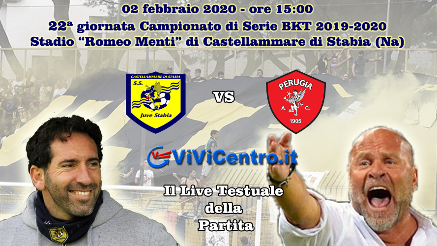 Juve Stabia Perugia LIVE