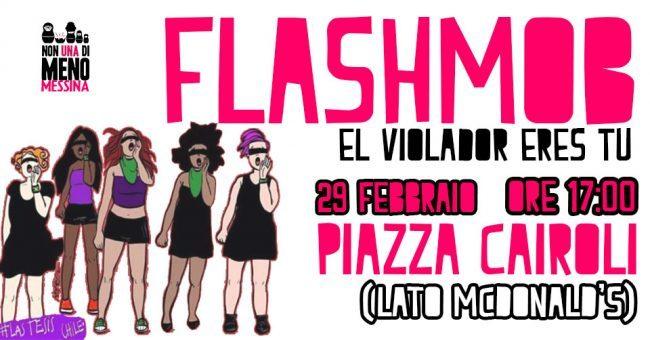 non una di meno flashmob
