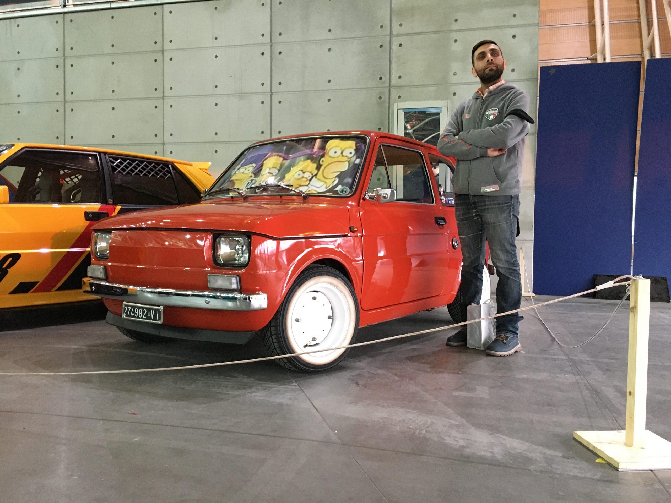 Automotoretrò 2020   Fiat 126 Tuning