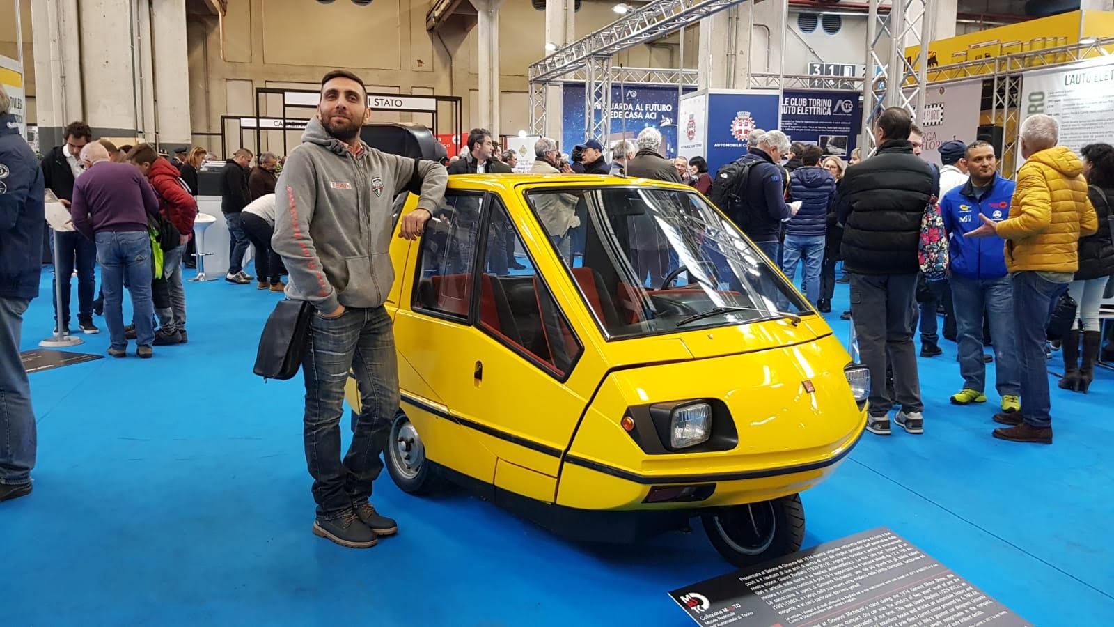 Automotoretrò 2020   Auto elettrica