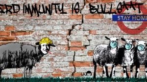 L'immunità del gregge -Street Artist Laika