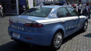 Polizia ha sanzionato quattro persone in via dei Ciliegi
