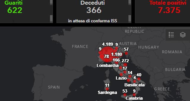 Coronavirus COVID19 Italia - Monitoraggio della situazione a domenica 8 marzo 2020 (foto cc by 4-0)