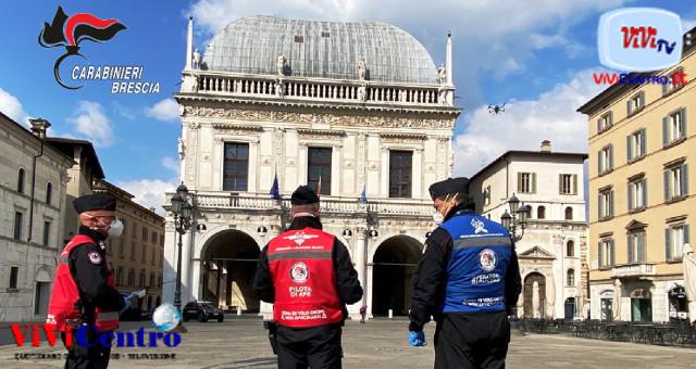 Carabinieri Brescia, controlli con drone
