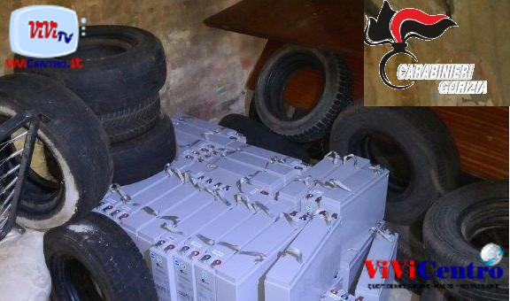 Carabinieri Gradisca, Gorizia, Batterie casolare