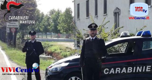 Carabinieri Mantova, controlli a CASTIGIONE DELLE STIVIERE