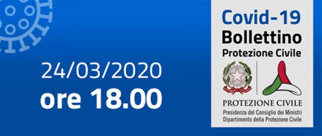 Conferenza stampa Protezione Civile 24 marzo 2020 ore 18.00 su epidemia Coronavirus