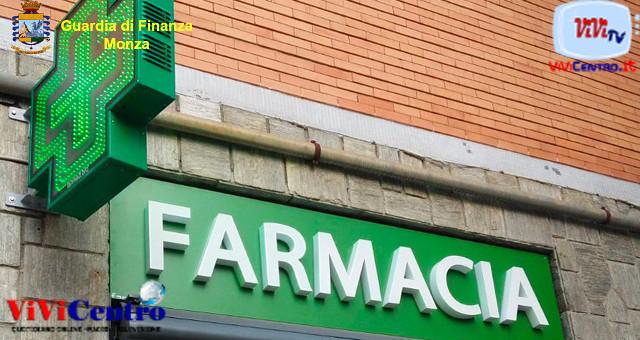 Emergenza covid19 Farmacia (foto da GdF)