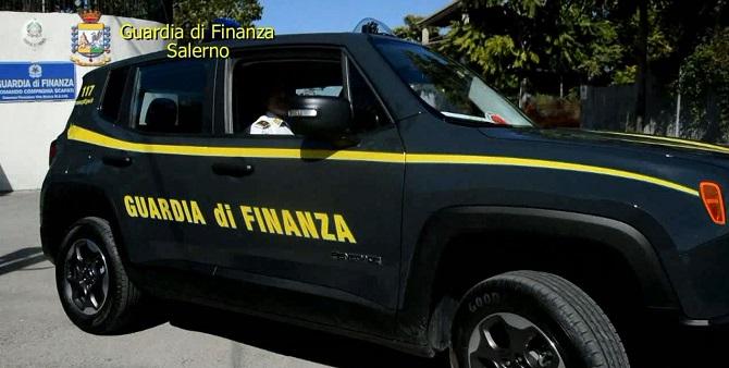 GdF Salerno contrabbando gasolio