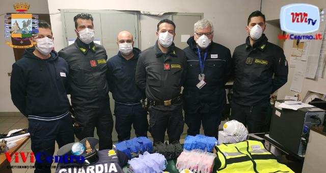 Guardia di Finanza Como, sequestro mascherine Coronavirus