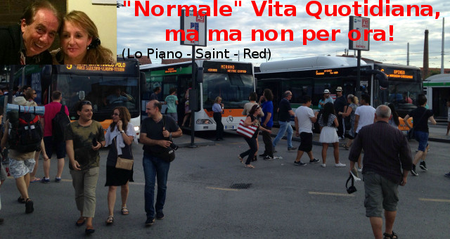 """Normale"" Vita Quotidiana ACTV_Buses_in_Piazzale_Roma,_Venice (foto free)"