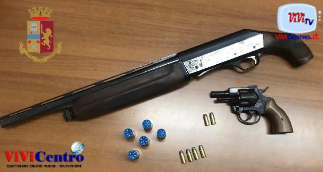 Polizia Bagnoli (NA), arma in auto