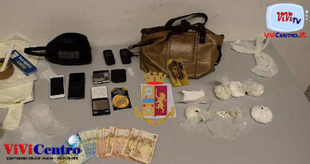 Polizia Napoli, droga Giugliano