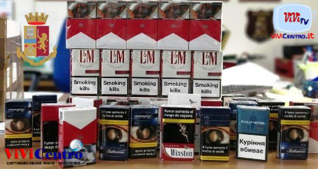 Polizia Napoli, sequestro sigarette a Chiaiano. Il contrabbando in periodo di Sta a Casa