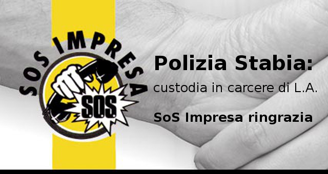 Polizia Stabia e SOS IMPRESA