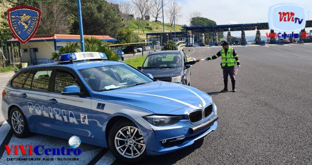 Polizia Stradale Napoli, controlli