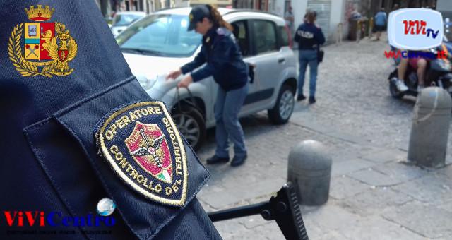 Polizia di Stato Napoli, controlli in Piazza Garibaldi, Commissariato Decumani